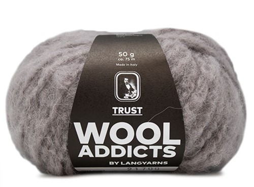 Lang Yarns Wooladdicts Trust 003 Light Grey Mélange