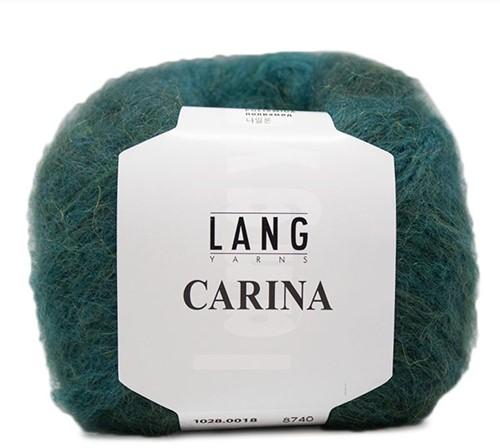 Lang Yarns Carina 018 Dark Green