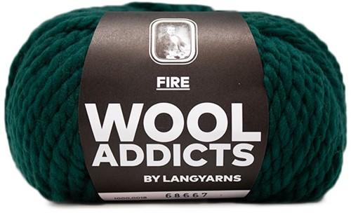 Wooladdicts Be Golden Trui Breipakket 4 XL Moss
