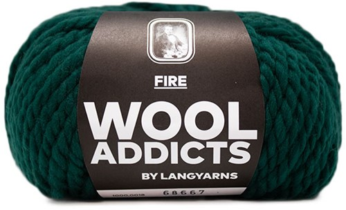 Wooladdicts Be Golden Trui Breipakket 4 L Moss