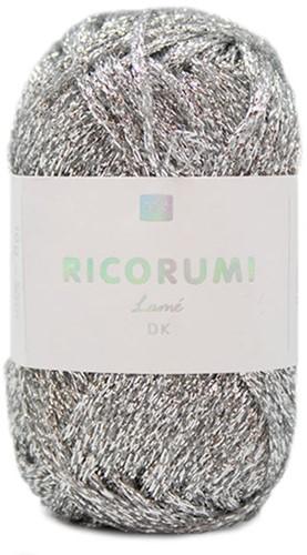 Rico Ricorumi Lamé DK 001 Silver