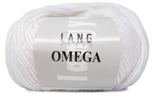 Lang Yarns Omega 001 White