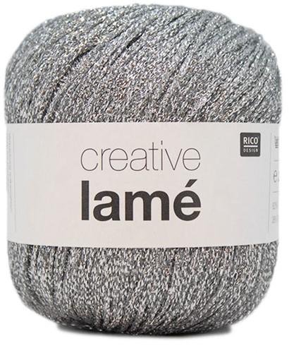 Rico Creative Lamé 001 Silver