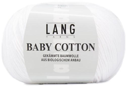 Lang Yarns Baby Cotton 001 White