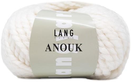 Lang Yarns Anouk 001 White