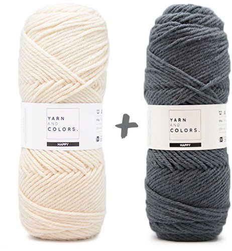 Reversible Dream Blanket 3.0 CAL Crochet Kit 4 Graphite (Accent Colour)