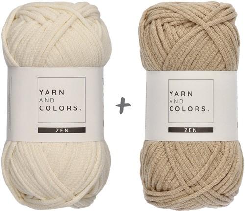 Yarn and Colors Basic Blanket Crochet Kit 009 Limestone