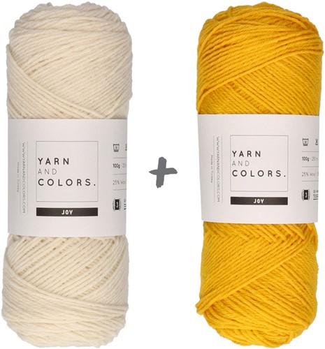 Reversible Baby Dream Blanket 3.0 Crochet Kit 2 Mustard Stroller Blanket