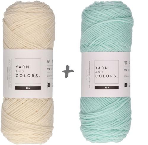 Reversible Baby Dream Blanket 3.0 Crochet Kit 5 Jade Gravel Cot Blanket