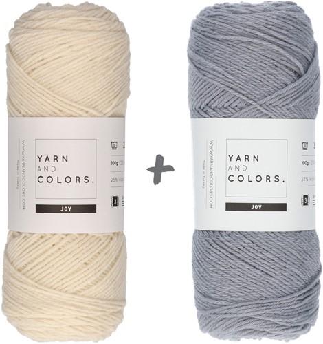 Reversible Baby Dream Blanket 3.0 Crochet Kit 6 Shark Grey Cot Blanket