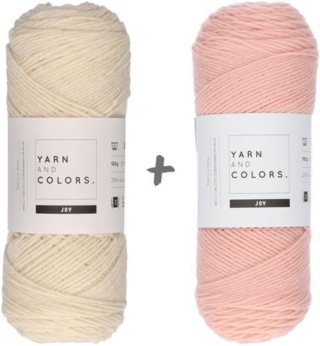Reversible Baby Deam Blanket 3.0 Crochet Kit 11 Rosé Cot Blanket
