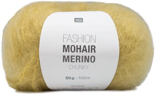 Rico Fashion Mohair Merino Chunky 002 Yellow