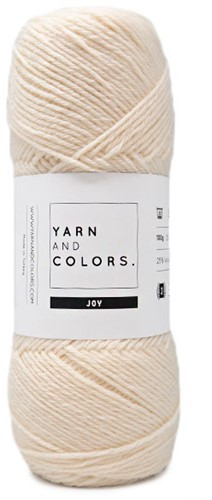 Yarn and Colors Joy 002 Cream