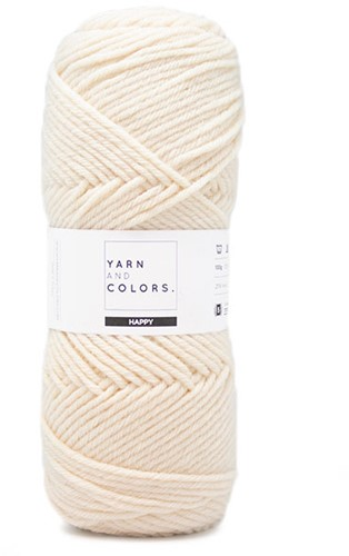 Yarn and Colors Maxi Cardigan Knitting Kit 1 S/M Cream