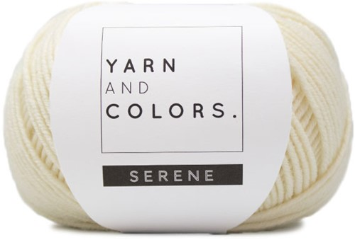 Yarn and Colors Serene 002 Cream