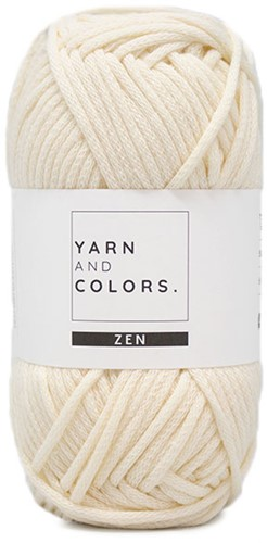 Yarn and Colors Tank Top Knitting Kit 1 Cream XL
