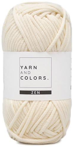 Yarn and Colors Tank Top Knitting Kit 1 Cream M
