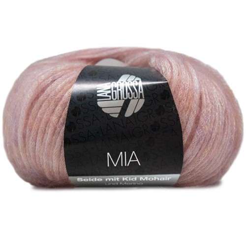 Lana Grossa Mia 002 Rose