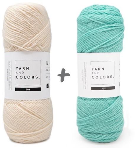 Reversible Baby Deam Blanket 3.0 Crochet Kit 10 Glass Cot Blanket