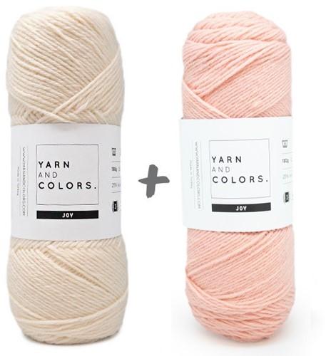 Reversible Baby Deam Blanket 3.0 Crochet Kit 11 Rosé Stroller Blanket