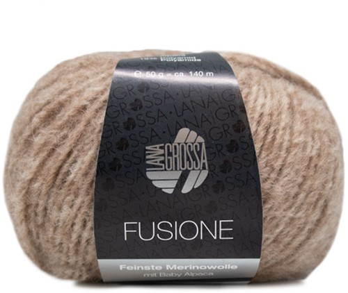 Lana Grossa Fusione 003 Light Brown Mixed