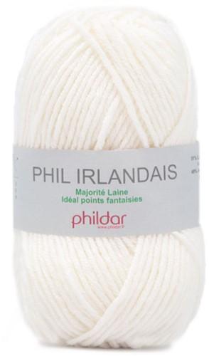 Phildar Phil Irlandais 0043 Blanc
