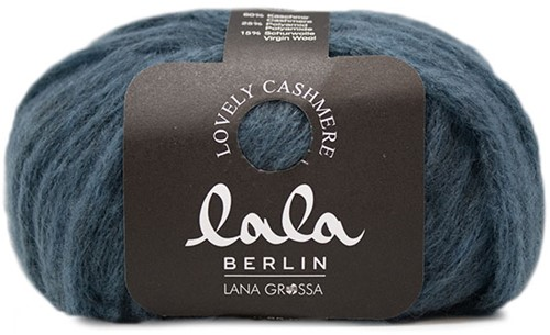Lana Grossa Lala Berlin Lovely Cashmere 004 Jeans Blue