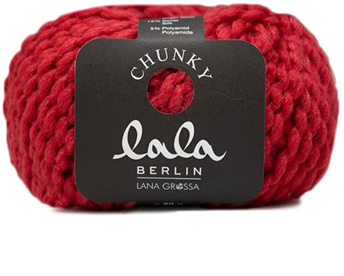 Lana Grossa Lala Berlin Chunky 004 Red