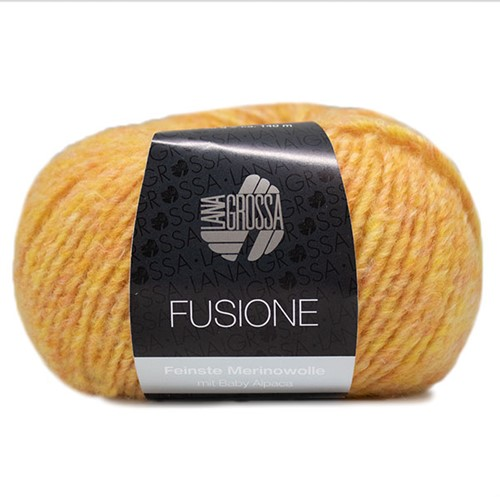 Lana Grossa Fusione 005 Yellow-Salmon Mixed