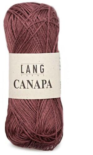 Lang Yarns Canapa 63 Dark Red
