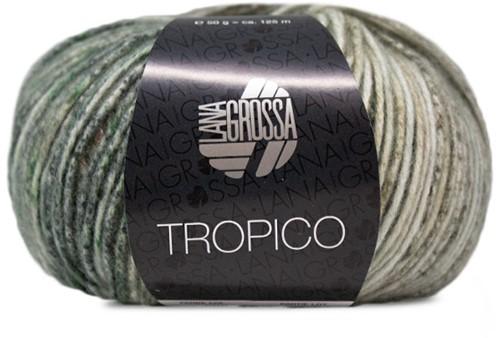 Lana Grossa Tropico 006 Nature / Brown / Green / Khaki / Yellow