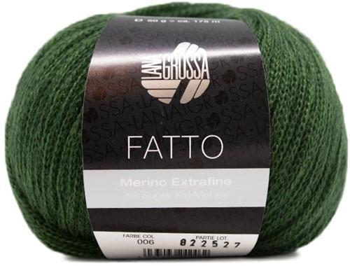 Lana Grossa Fatto 6 Dark Green
