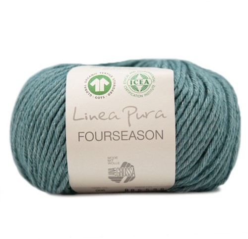 Lana Grossa Fourseason 006 Light Petrol