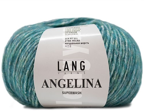 Lang Yarns Angelina 074 Atlantic