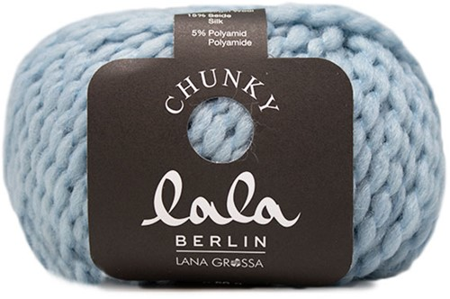 Lana Grossa Lala Berlin Chunky 007 Pastel Blue