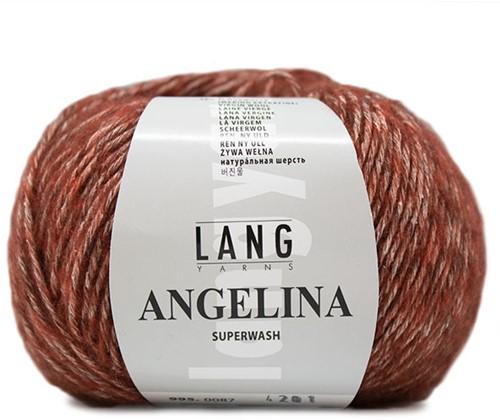 Lang Yarns Angelina 087 Rust