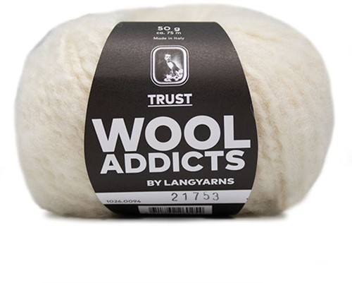Lang Yarns Wooladdicts Trust 094 Off-White