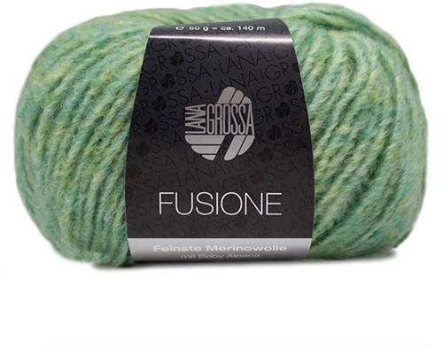 Lana Grossa Fusione 009 Light Green-Yellow Mixed
