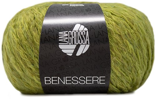 Lana Grossa Benessere 009 Yellow Green