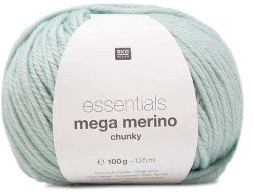 Rico Essentials Mega Wool Chunky 010 Mint