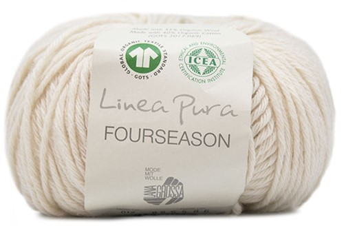 Lana Grossa Fourseason 012 Raw White