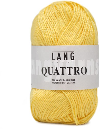 Lang Yarns Quattro 013 Yellow