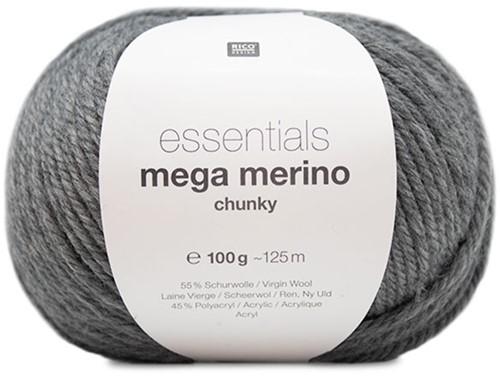 Rico Essentials Mega Wool Chunky 014 Grey