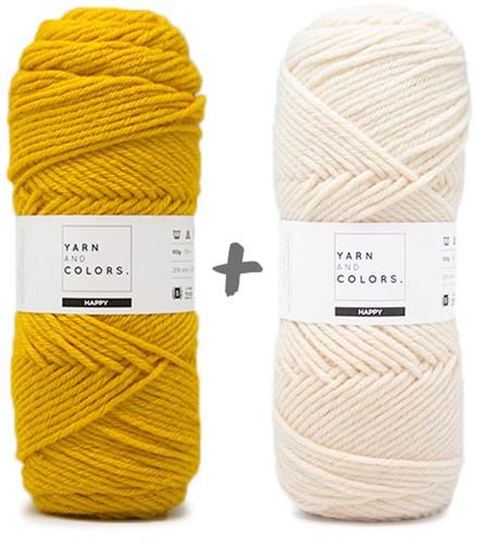 Dream Blanket 3.0 CAL Crochet Kit 5 Mustard (Main Colour)