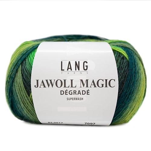 Lang Yarns Jawoll Magic Dégradé 017 Green