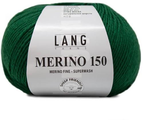 Lang Yarns Merino 150 017 Green