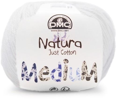 DMC Natura Medium 01 Blanc