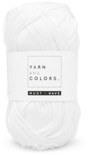 Yarn and Colors Must-have 001 White
