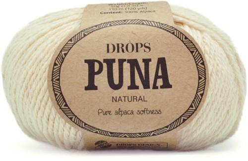 Drops Puna Natural 01 Off-White