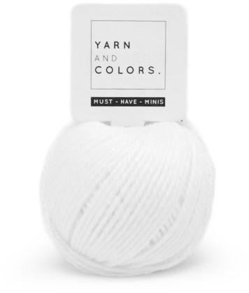 Yarn and Colors Must-have Minis 001 White